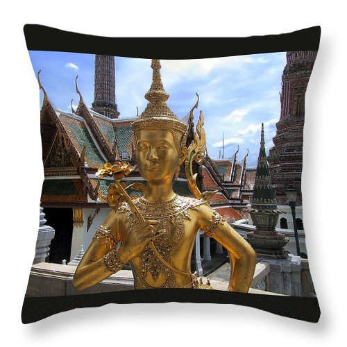 Imperial Palace Throw Pillow featuring the photograph Imperial Palace by Harry Spitz