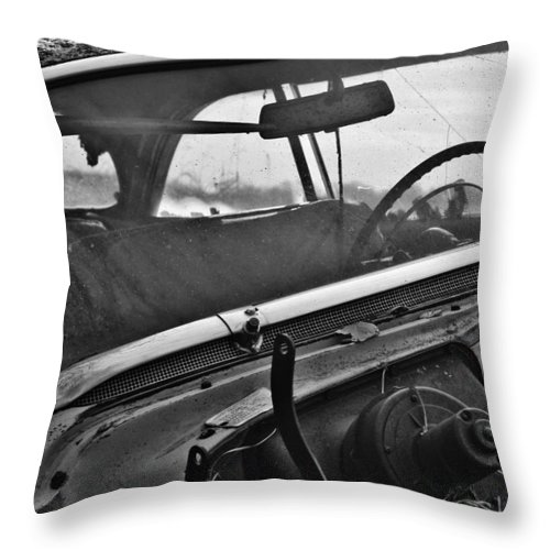 Street Photography Photographs Framed Prints Photographs Framed Prints Throw Pillow featuring the photograph In The Hood by The Artist Project