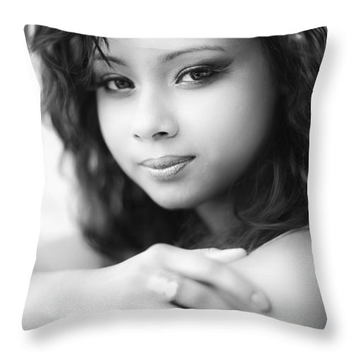 Exotic Throw Pillow featuring the photograph Intuition by Rick Berk