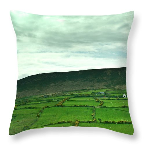 Irish Throw Pillow featuring the photograph Irish Countryside 2 by Douglas Barnett