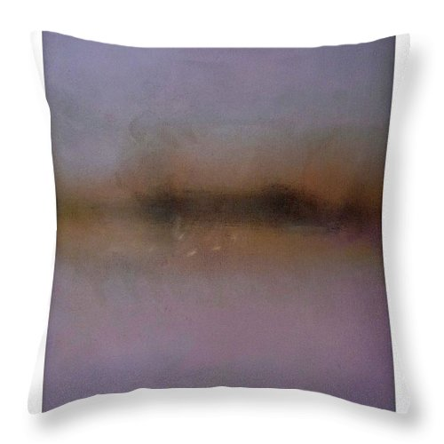 Skyline Throw Pillow featuring the painting Italian Skyline by Charles Stuart