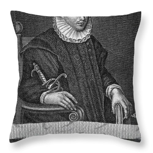 16th Century Throw Pillow featuring the photograph James Crichton (1560-1582) by Granger
