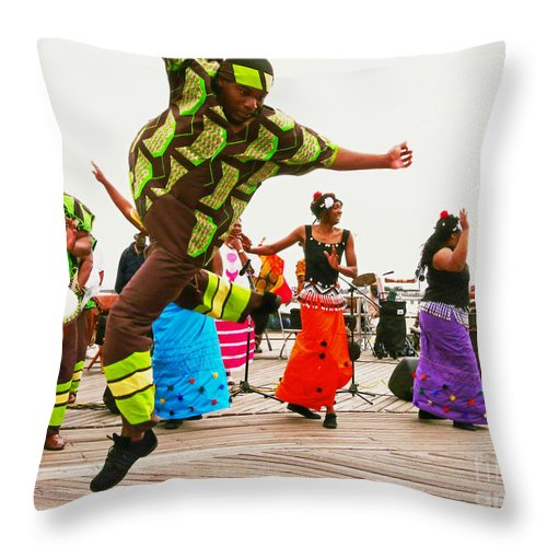 Sister Throw Pillow featuring the photograph Jump Up by Kendall Eutemey