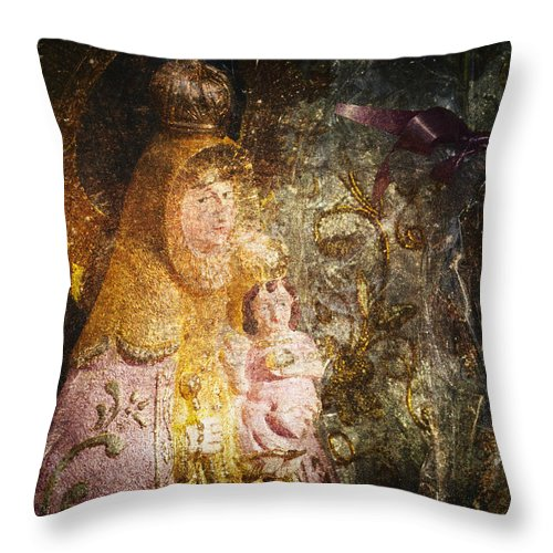 Abstract Throw Pillow featuring the photograph Lady by Skip Nall