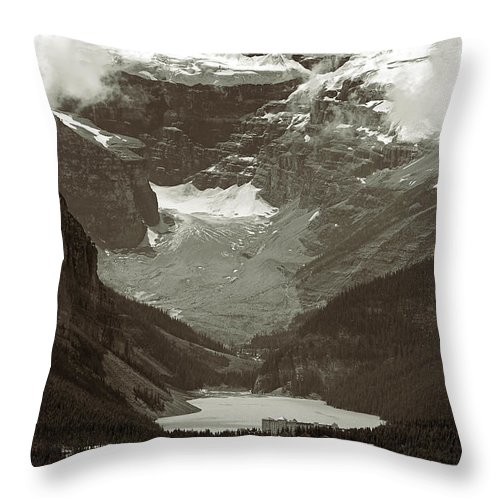 Lake Louise Throw Pillow featuring the photograph Lake Louise by RicardMN Photography