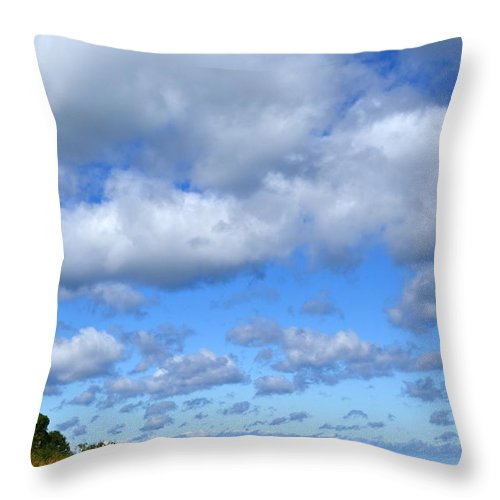 Lake Throw Pillow featuring the photograph Lake Superior At Whitefish Bay by Michelle Calkins