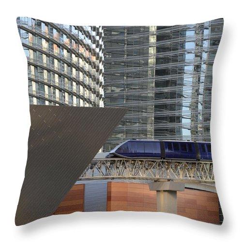 Las Vegas Throw Pillow featuring the photograph Las Vegas 4 by Bob Christopher