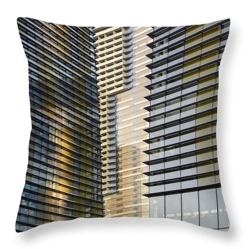 Las Vegas Throw Pillow featuring the photograph Las Vegas 8 by Bob Christopher
