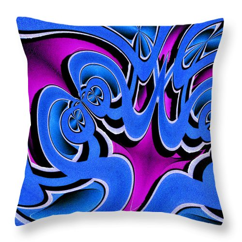 Photography Photographs Throw Pillow featuring the photograph Laugh by Paul Wear