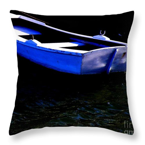Row-boat Throw Pillow featuring the photograph Life Is But A Dream by Lainie Wrightson