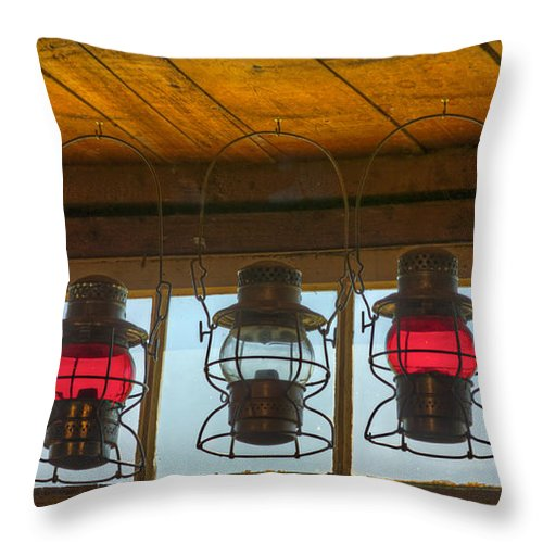 Canada Throw Pillow featuring the photograph Lighting The Way by Colette Panaioti
