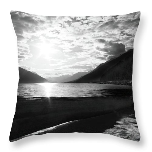 Lake Throw Pillow featuring the photograph Liquid Choice by The Artist Project