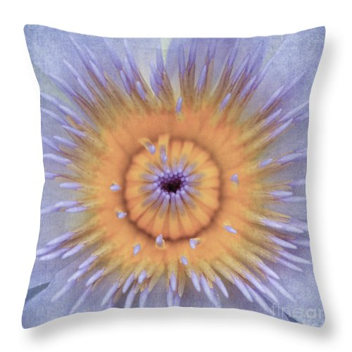 Lotus. Lotus Flower Throw Pillow featuring the photograph Lotus Flower by Neil Overy