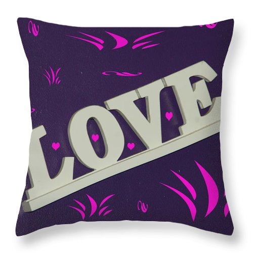 Love Throw Pillow featuring the photograph Love by Aimee L Maher ALM GALLERY