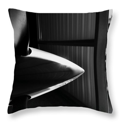 Airplane Throw Pillow featuring the photograph Luxury Travel by Valerie Rosen