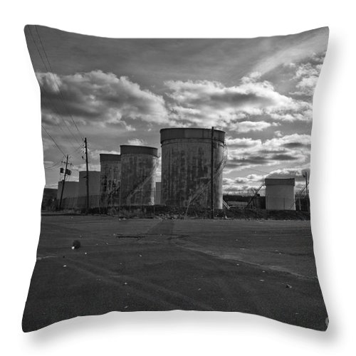 Gas Throw Pillow featuring the photograph Mad Max by Maglioli Studios