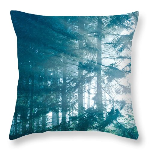 Nature Throw Pillow featuring the photograph Magic by Daniel Csoka