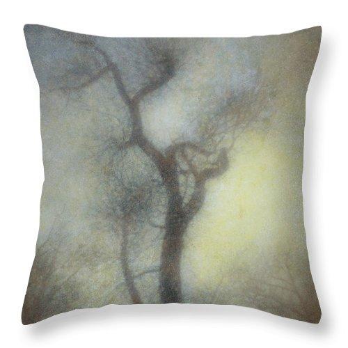 Tree Throw Pillow featuring the digital art Magic by Diane Dugas