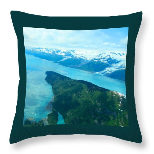 Alaska Throw Pillow featuring the photograph Magnificent Sculptures by Michael Anthony