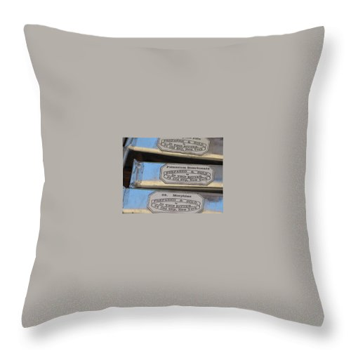 Medicine Throw Pillow featuring the photograph Medicine by Michele Nelson