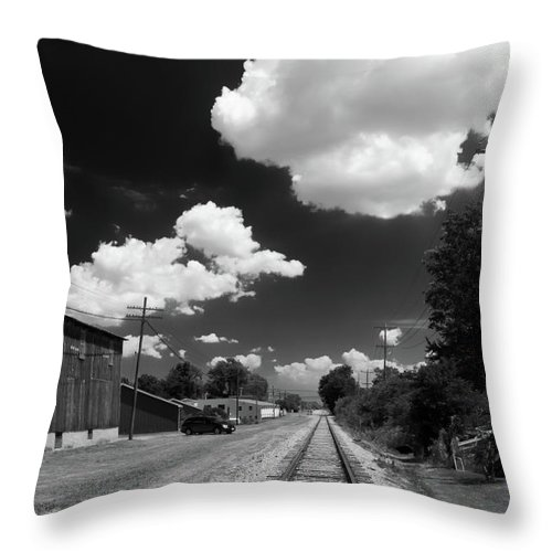 Engine Throw Pillow featuring the photograph Medina 7325 by Guy Whiteley