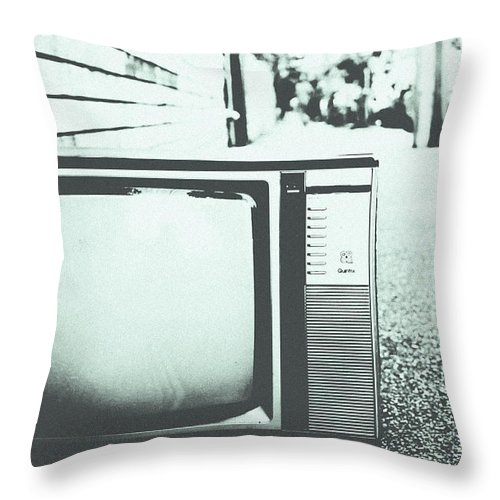 Black Throw Pillow featuring the photograph Memory Loss by Andrew Paranavitana