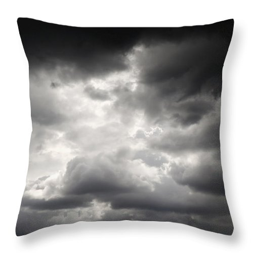 Clouds Throw Pillow featuring the photograph Mexico by Axiom Photographic