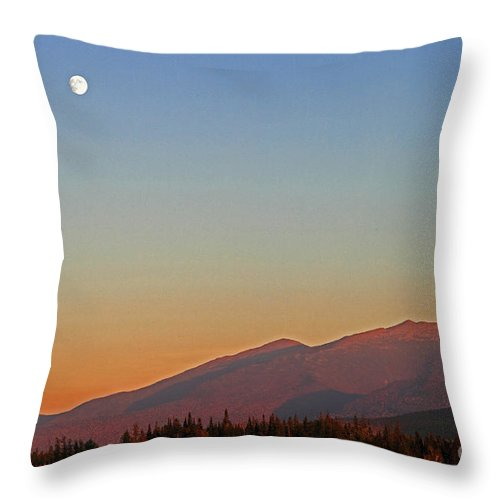 Pondicherry Throw Pillow featuring the photograph Moonrise Over Pondicherry by Lloyd Alexander