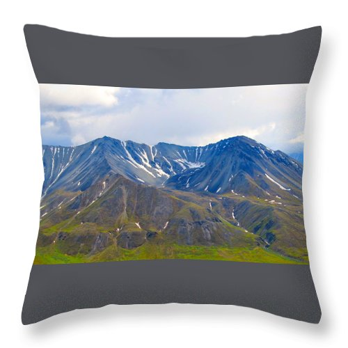 Alaska Throw Pillow featuring the photograph Motions Of Earth by Michael Anthony