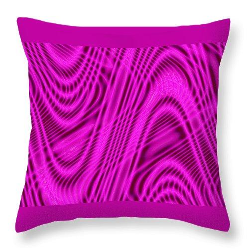 Moveonart! Global Gathering. -- Digital Abstract Art By Artist Jacob Kane -- Omnetra Throw Pillow featuring the digital art Moveonart Wavesforchange by Jacob Kanduch