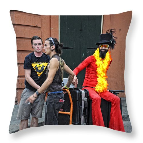 People Throw Pillow featuring the photograph Moving Star by Kathleen K Parker