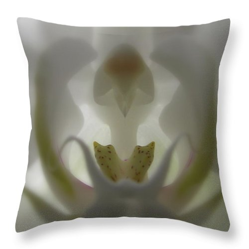 Flower Throw Pillow featuring the photograph Musical by Tina Marie