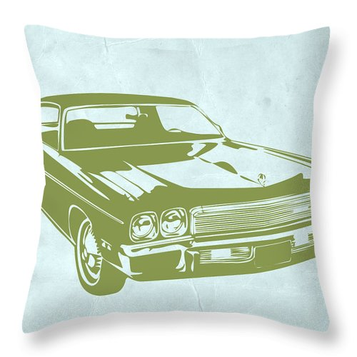 Auto Throw Pillow featuring the photograph My Favorite Car 5 by Naxart Studio