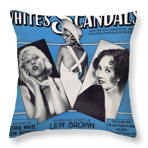 Classic Throw Pillow featuring the photograph My Song by Mel Thompson