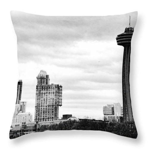 Niagara Falls Throw Pillow featuring the photograph Niagara by Traci Cottingham