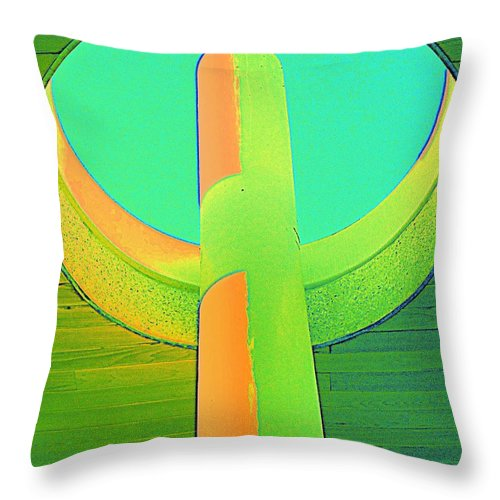 Oculus Throw Pillow featuring the photograph Oculus Fantasy 1 by Randall Weidner