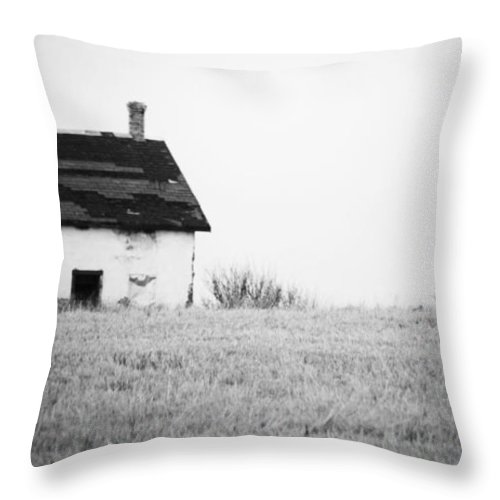 Barns Throw Pillow featuring the photograph Old Way by The Artist Project