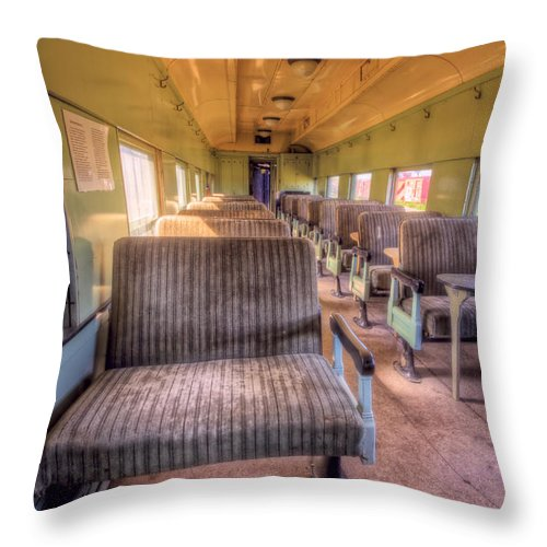 Canada Throw Pillow featuring the photograph On The Job Training by Colette Panaioti