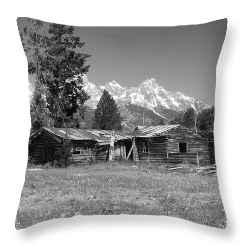 Sandra Bronstein Throw Pillow featuring the photograph Once Upon A Time -  Bar Bc by Sandra Bronstein