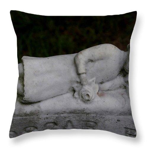Oscar Throw Pillow featuring the photograph Oscar B by J M Lister