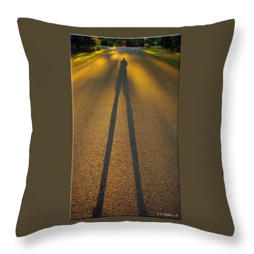 2d Throw Pillow featuring the photograph Outcast by Brian Wallace
