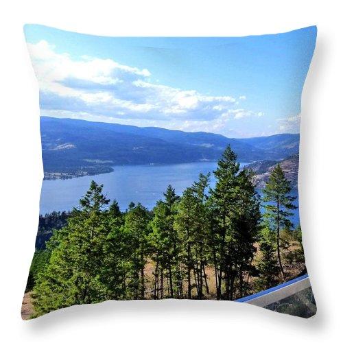 Vista 17 Throw Pillow featuring the photograph Vista 17 by Will Borden
