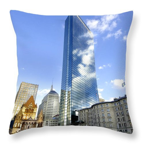 Art Throw Pillow featuring the photograph Painting With Sunsets by Greg Fortier
