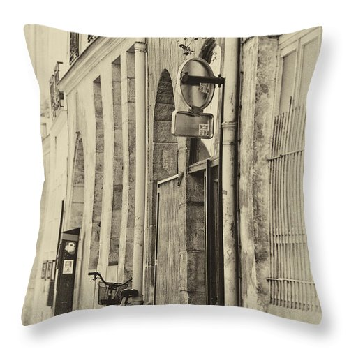 Paris Throw Pillow featuring the photograph Paris by Sheila Smart Fine Art Photography