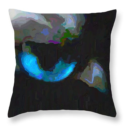 Cat's Eye Throw Pillow featuring the photograph Phaedra Eye by Amber Stubbs