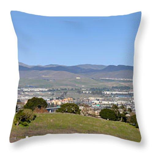 Pleasanton Ca. Throw Pillow featuring the photograph Pleasanton by Karen W Meyer