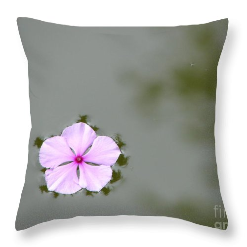 Float Throw Pillow featuring the photograph Ponder by Priscilla Richardson