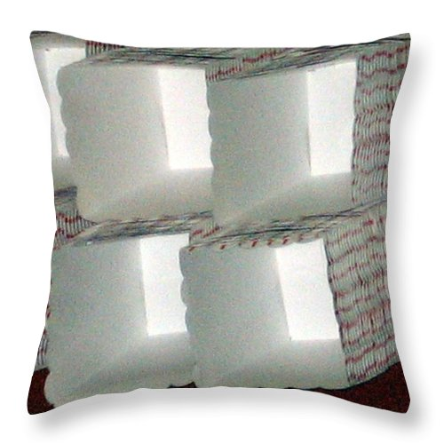 Popcorn Throw Pillow featuring the photograph Popcorn Boxes by Amy Hosp