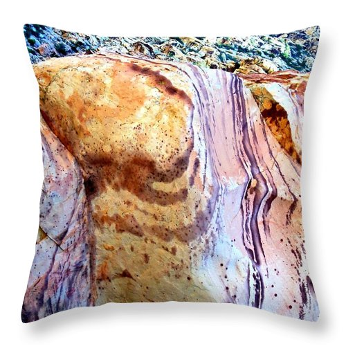 Red Rock Canyon Throw Pillow featuring the photograph Red Rock Canyon 47 by Randall Weidner