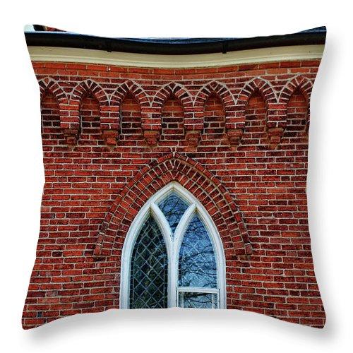 Rachel Cohen Throw Pillow featuring the photograph Reflections Over Time by Rachel Cohen
